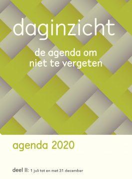 Daginzicht agenda 2020 – Deel II (1 juli t/tm 31 december)
