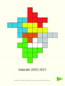 Prikkelarme kalender 2020 – 2021