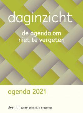Daginzicht agenda 2021 – Deel 2