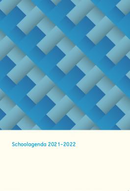 Prikkelarme schoolagenda 2021-2022